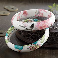 Chinese Ceramic Bangle