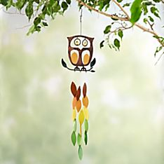 Wise Owl Wind Chime