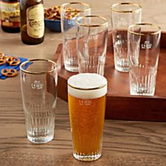Belgian Pilsner Glasses - Set of 6