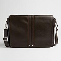 Altiplano Leather Messenger Bag