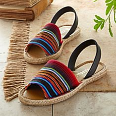 Colombian Espadrille Sandals