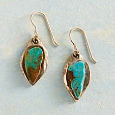 Turquoise Talisman Earrings