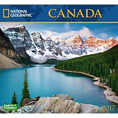 2017 Canada National Geographic Wall Calendar