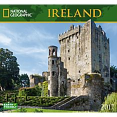 2017 Ireland National Geographic Wall Calendar