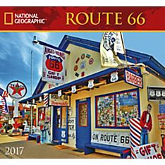 2017 Route 66 National Geographic Wall Calendar