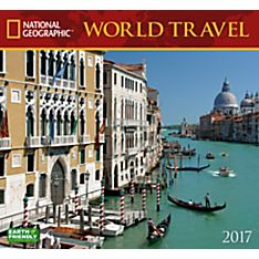 2017 World Travel National Geographic Wall Calendar