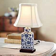 Porcelain Tea Caddy Lamp