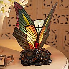 Art Nouveau Butterfly Lamp