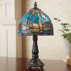 Art Nouveau Dragonfly Lamp