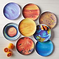 Planet Plates - Set of 8
