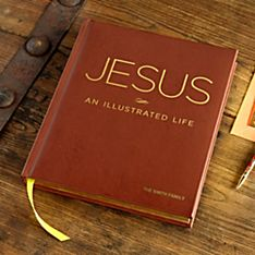 Jesus An Illustrated Life - Personalized Deluxe Edition