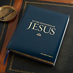 In The Footsteps of Jesus - Personalized Deluxe Edition