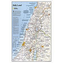 Holy Land Thematic Map