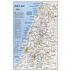 Holy Land Thematic Map, 2003