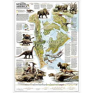 View Dinosaurs of North America Map image