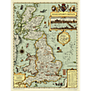 Shakespeare's Britain Map