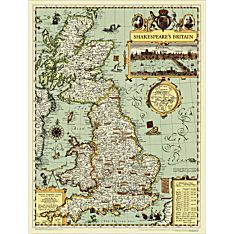 Shakespeare's Britain Map, 2011