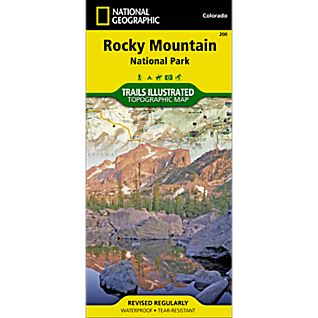 National Geographic Rocky Mountain National Park Map