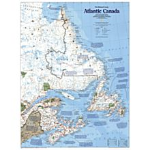 The Making of Atlantic Canada Thematic Wall Map