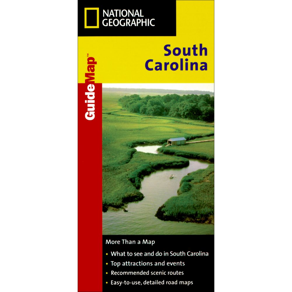 photo: National Geographic South Carolina Map