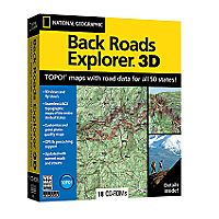National Geographic Back Roads Explorer CD-ROM