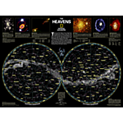 The Heavens Map, Laminated