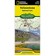 201 Yellowstone National Park Trail Map, 2008