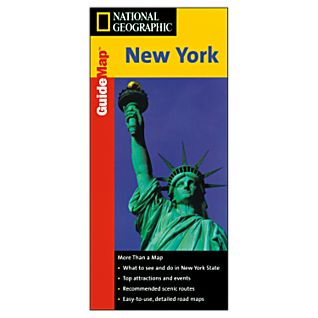 National Geographic New York Map