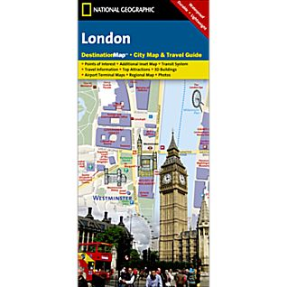 View London Destination City Map image