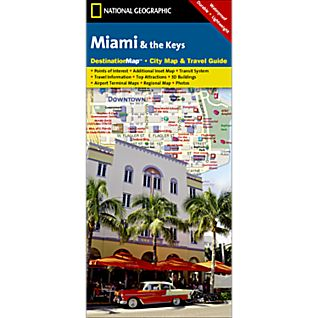 View Miami & The Keys Destination City Map image