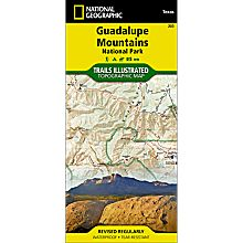203 Guadalupe Mountains National Park Trail Map, 2007