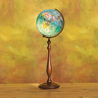Envoy Blue Ocean Illuminated Floor Globe