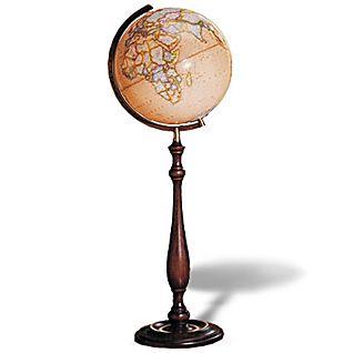 Pinnacle Earth Toned Illuminated Floor Globe National