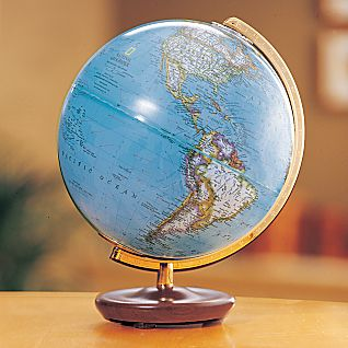 Adventure Non-Illuminated Desk Globe