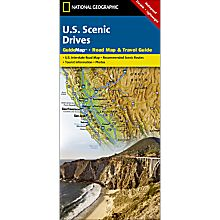 Scenic Drives USA Guide Travel and Hiking Map