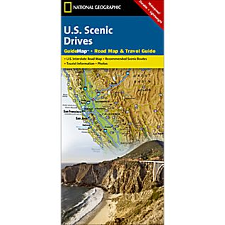Scenic Drives USA Guide Map