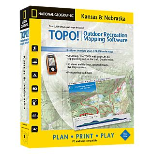 photo: National Geographic TOPO! Kansas & Nebraska CD-ROM