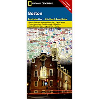 Boston City Destination Map