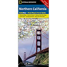 Northern California Guide Map