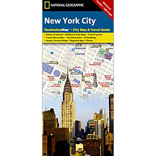 New York Destination City Map
