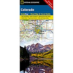 Colorado Guide Travel and Hiking Map