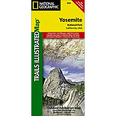 206 Yosemite National Park Trail Map, 2005