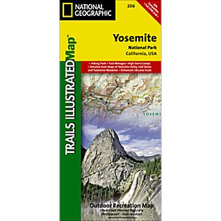 View 206 Yosemite National Park Trail Map image