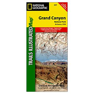 National Geographic Grand Canyon National Park Map