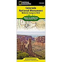 208 Colorado National Monument Trail Map