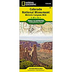 208 Colorado National Monument Trail Map, 2008