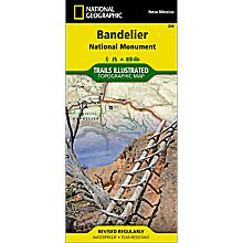 209 Bandelier National Monument Trail Map, 2000