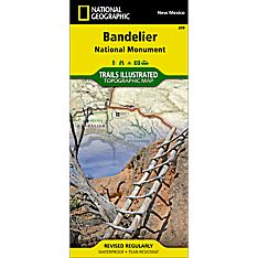 209 Bandelier National Monument Trail Map