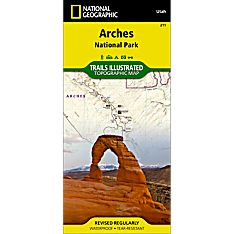 211 Arches National Park Trail Map, 2005