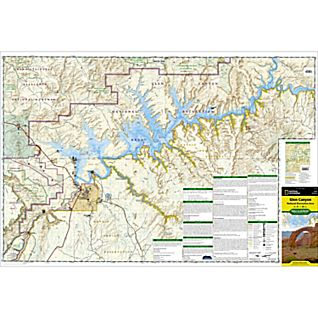 213 Glen Canyon National Recreation Area Trail Map